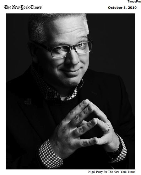 glenn beck logo gb. Cover story of Glenn Beck