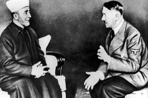Husseini speaking with Hitler 1941